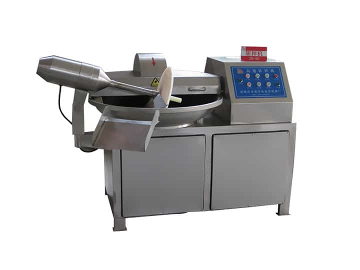 meat chopping and mixing machine