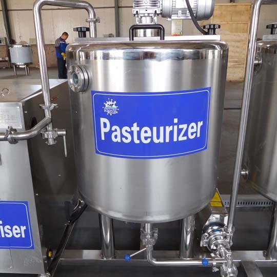 milk sterilizing tank