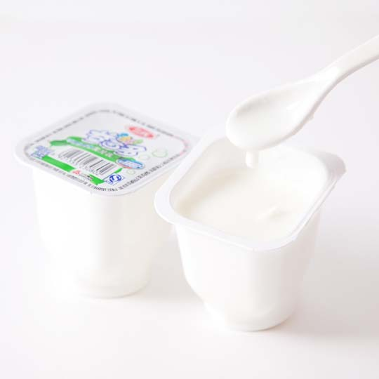 plain yogurt made by yogurt maker