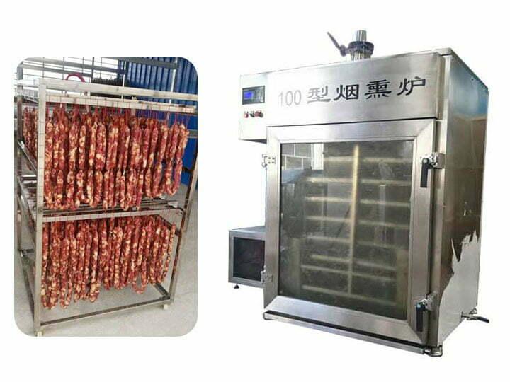 sausage smoking oven