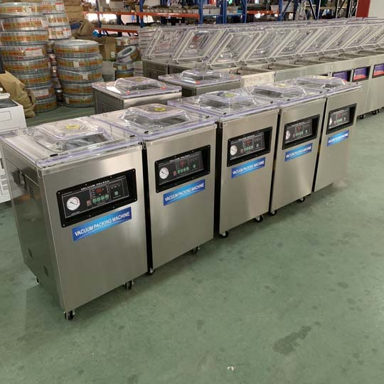 single-chamber vacuum packing machine in stock