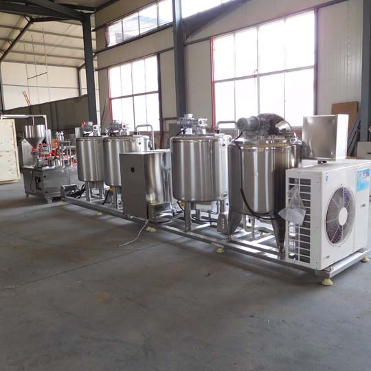 small-scale yogurt production line