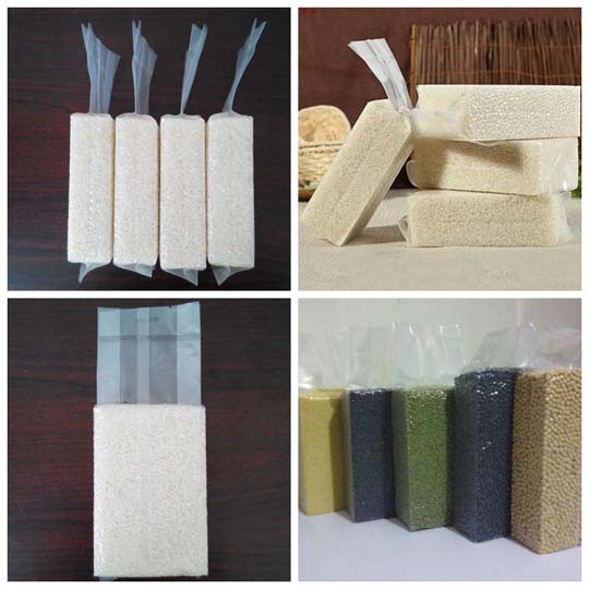 vacuum grains packing