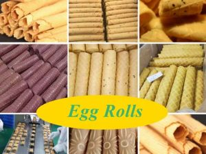 various egg rolls