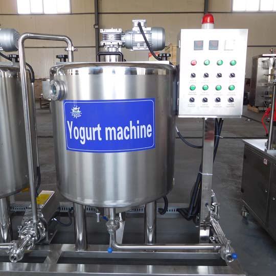 yogurt fermenting tank