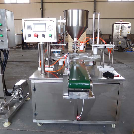 yogurt packing machine