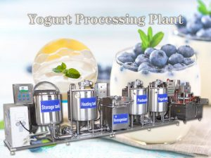 yogurt production line