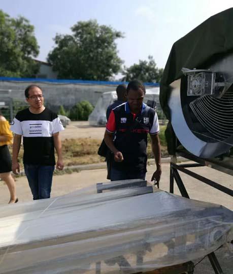 Taizy cassava machine was shipped to Nigeria