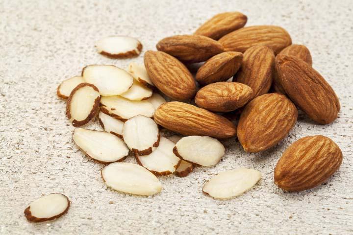 almond slicing