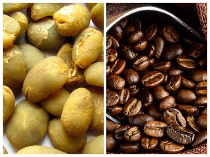 coffee beans baking