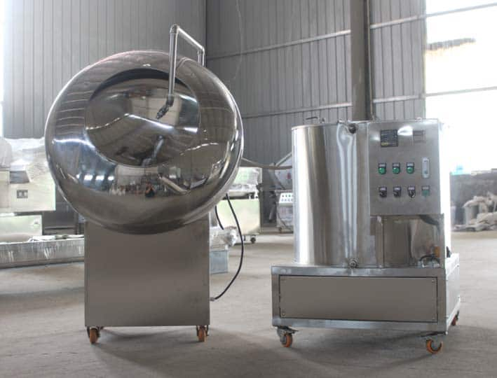 commercial peanut coating machine