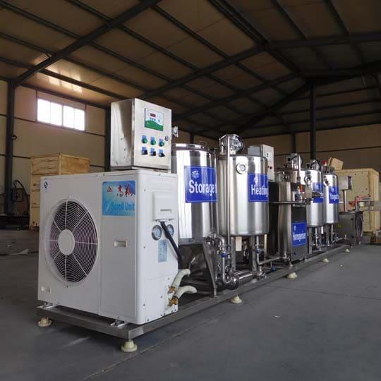 commercial yogurt production line