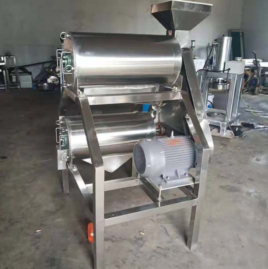 fruit and vegetable pulper machine