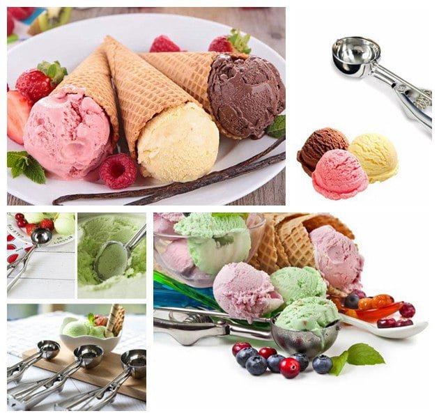 hard ice cream applications