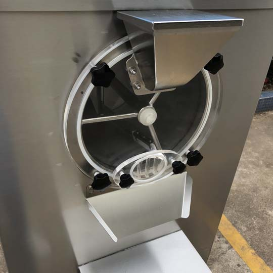 hard ice cream processing machine details