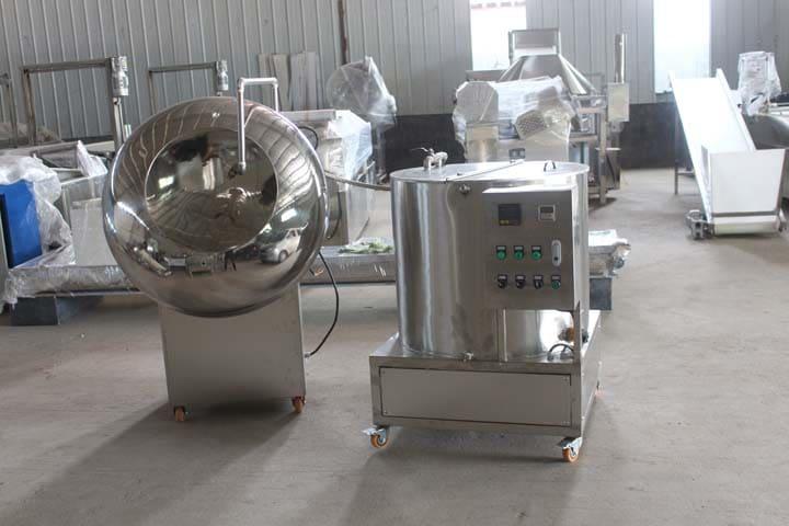 sugar coating machine in stock
