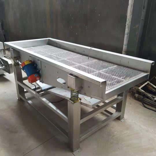 vegetable draining machine