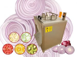 automatic onion slicer