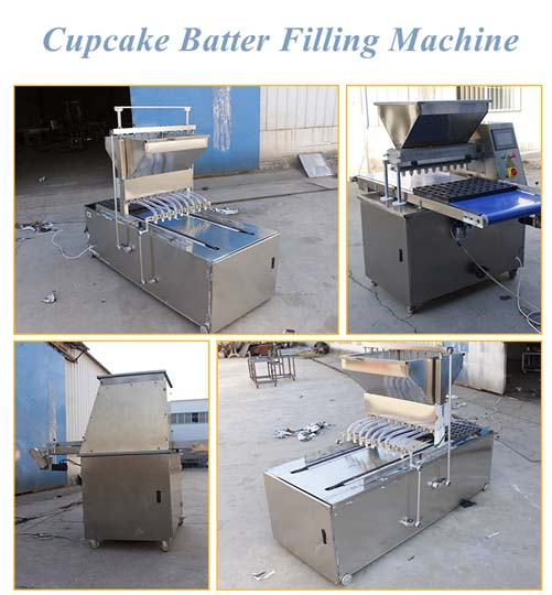 Taizy cupcakes filling machine