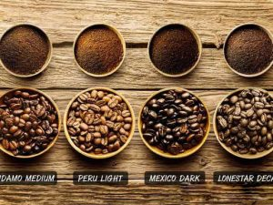 coffee beans roasting process