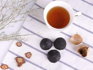 daily black garlic consumption
