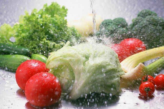 daily vegetable washing and fruit washing