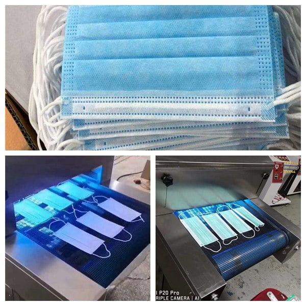mask sterilizer machine applications