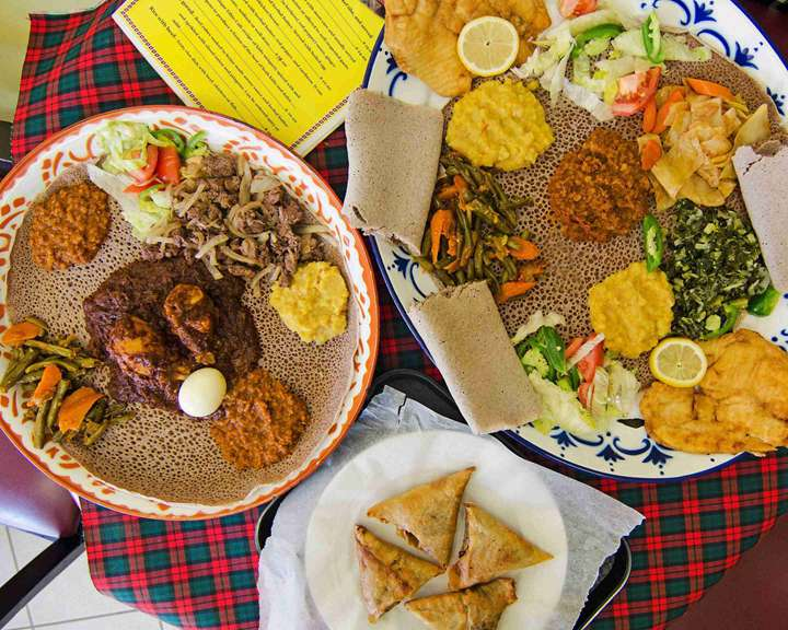 daily injera dishes in Ethiopia