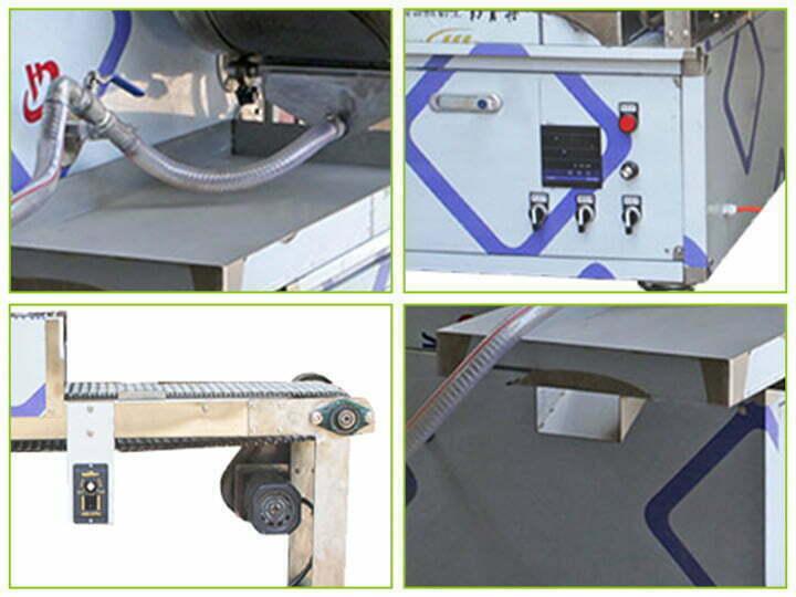 structure of the injera maker machine