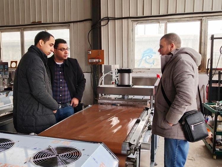 Turkey customer visit for tortilla maker machine
