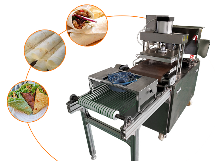 automatic tortilla wraps making machine for sale