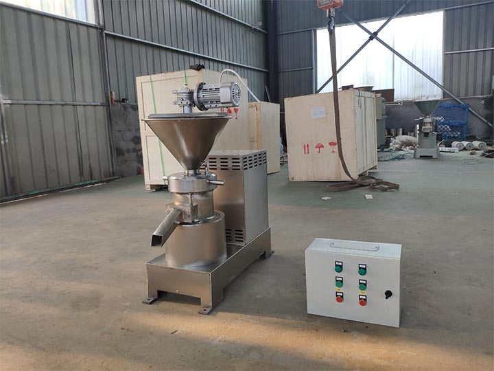 chili pepper sauce paste machine for shipping to Thailand