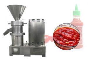 chili sauce making machine