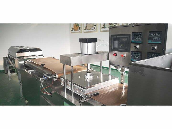 details of soft pita bread machine