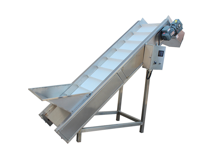 hoist conveyor for green pepper washing plant
