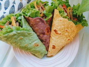 vegetable tortilla wraps