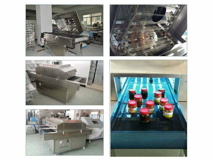 UV sterilizer machine for chili sauce processing