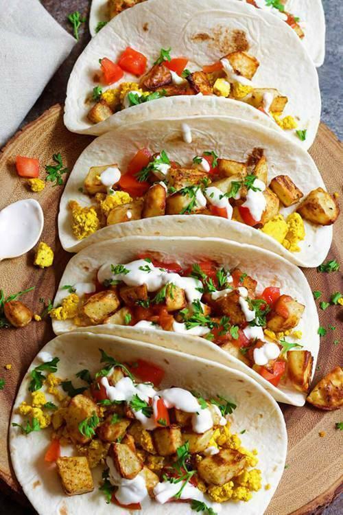 applications of corn tortilla