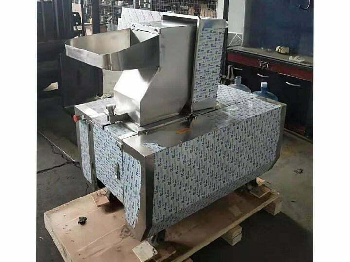 bone crusher machine structure