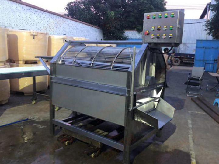commercial fish scaler machine