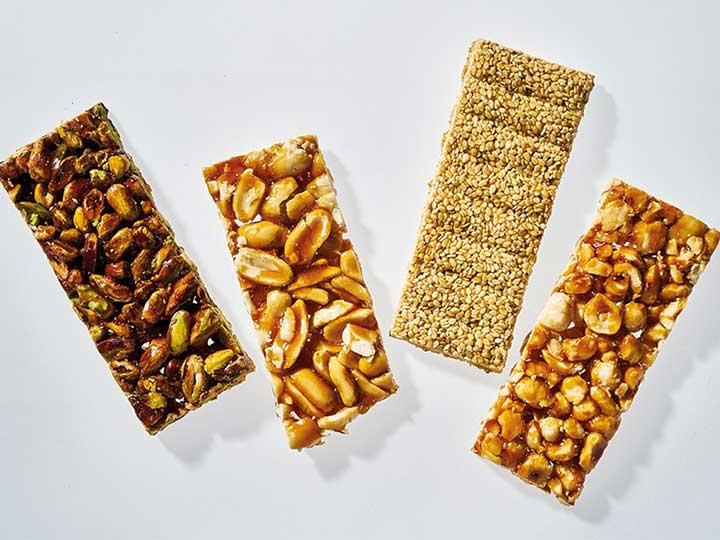 crispy peanut candy bars