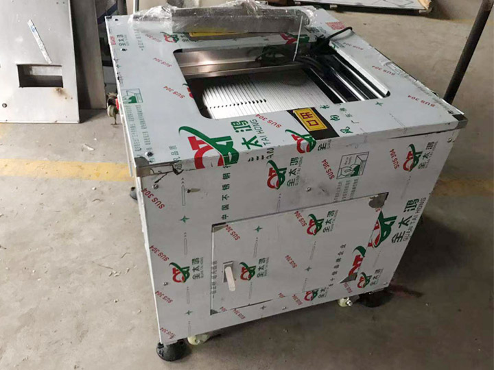 fish slicing machine for shipping to Japan