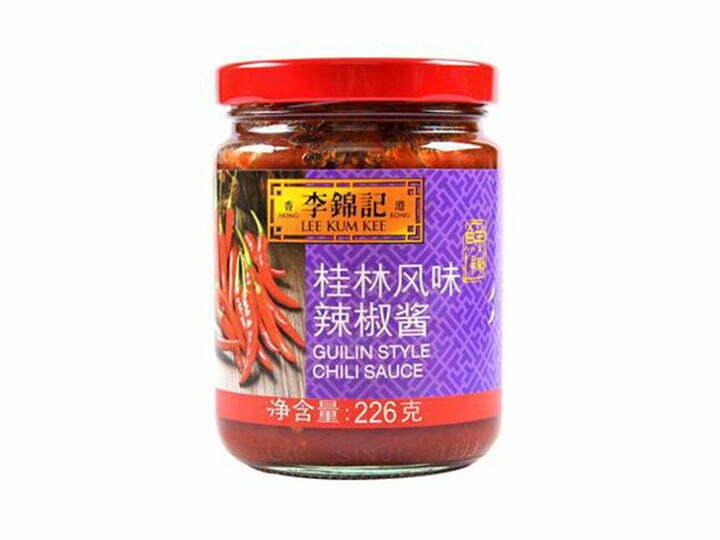 glass-bottled chili paste