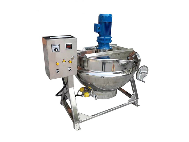 jacketed cooking pot