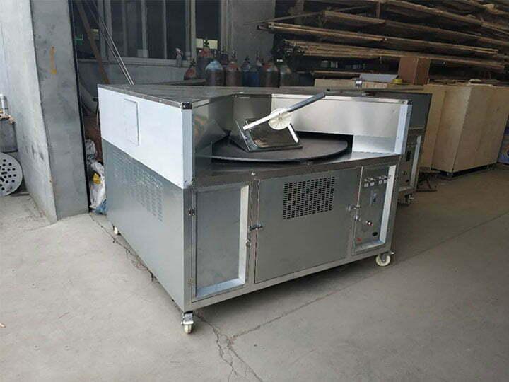 large type of pita bread machine