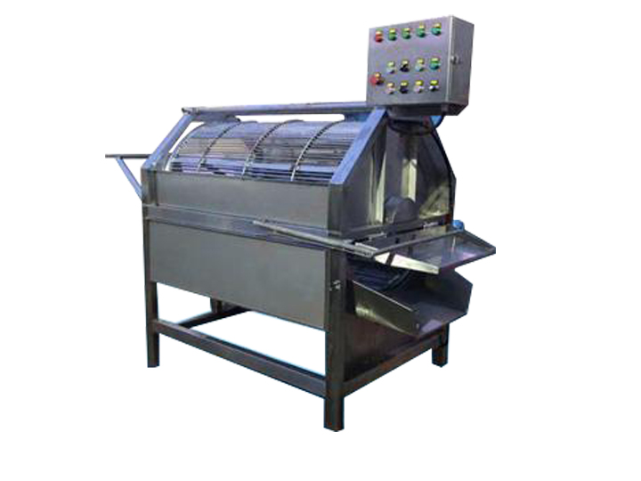 rotary fish scaling machine