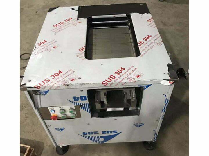 salmon slicer machine shipped to Japan
