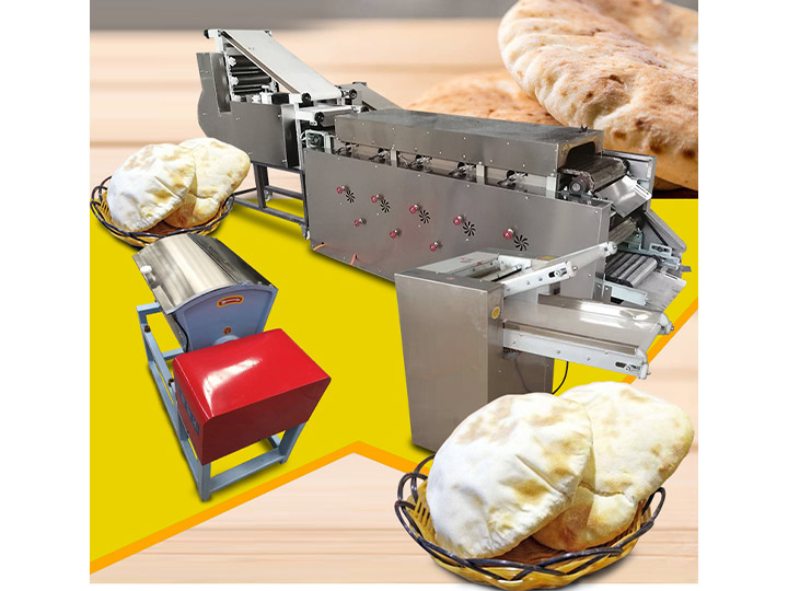 whole set of pita bread production line