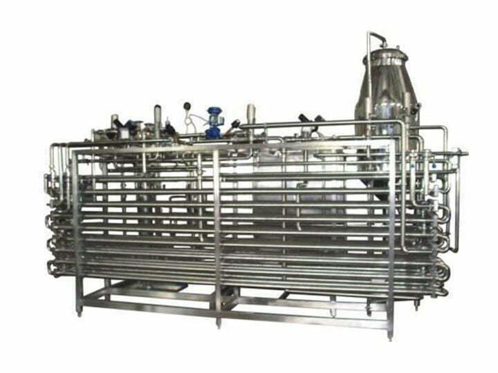 mango pulp sterilizing machine