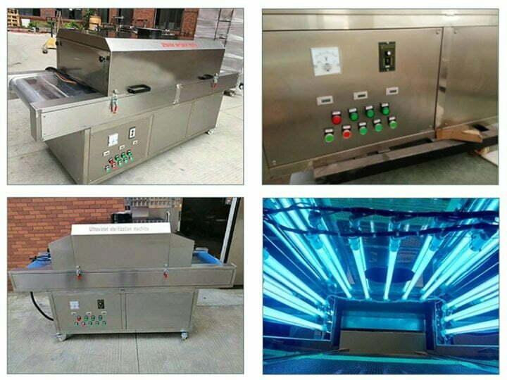 structure of UV sterilizing machine